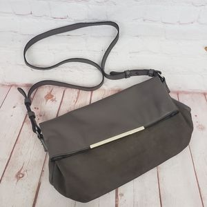 Banana Republic leather/ suede Crossbody